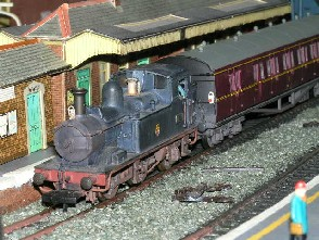 Solihull Model Railway Circle - 1419 in Br Black