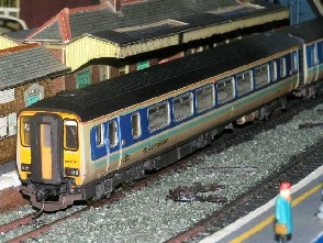 Solihull Model Railway Circle - Diesel Multiple Unit 156480 Super Sprinter