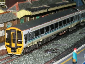 Solihull Model Railway Circle - Diesel Multiple Unit 158757 Regional Railways Express