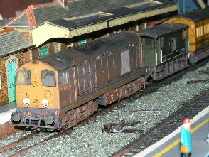 Solihull Model Railway Circle - 20128 BR Blue