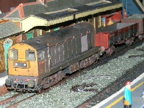 Solihull Model Railway Circle - 20210 BR Blue
