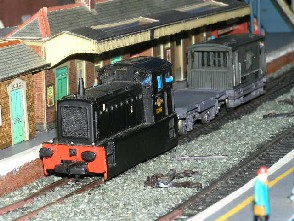 Solihull Model Railway Circle - D2212 BR Black