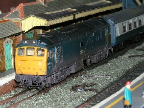 Solihull Model Railway Circle - 25279 BR Blue