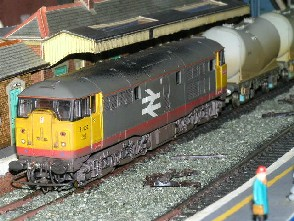Solihull Model Railway Circle - 31107 BR Railfeight Red Stripe