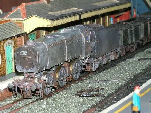 Solihull Model Railway Circle - 33020 in BR Black
