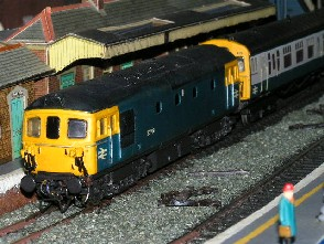 Solihull Model Railway Circle - 33109 BR Blue