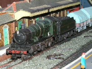 Solihull Model Railway Circle - 4377 in BR Green