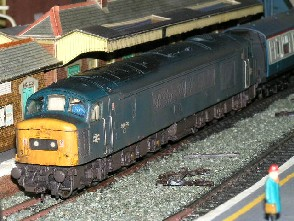 Solihull Model Railway Circle - 46020 BR blue