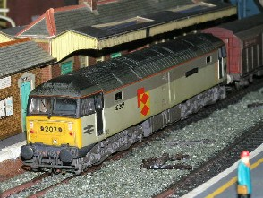 Solihull Model Railway Circle - 47207 'Bulmer's of Hereford' Railfeight 3 Tone Grey
