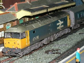 Solihull Model Railway Circle - 47456 BR Large Logo Blue