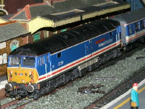 Solihull Model Railway Circle - 47711 'County of Hertfordshire' Network SouthEast
