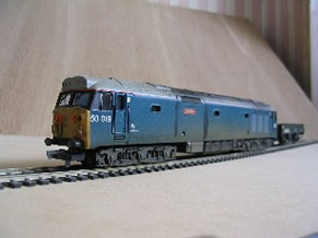 Oo Scale No.2 Fine Craftsmanship Locomotives Lima Class 40 Br Blue Body Only