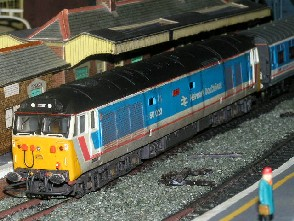 Solihull Model Railway Circle - 50023 'Howe' Network SouthEast