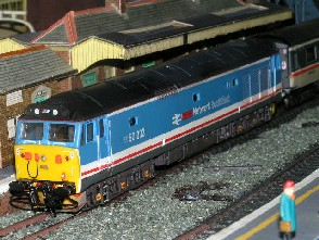 Solihull Model Railway Circle - 50033 'Glorious' Network SouthEast