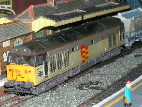 Solihull Model Railway Circle - 50149 'Defiance' Railfreight 3 Tone Grey