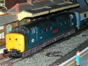 Solihull Model Railway Circle - 55014 'The Duke of Wellington's Regiment' BR Blue