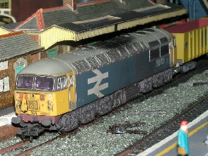 Solihull Model Railway Circle - 56101 BR Large Logo Blue