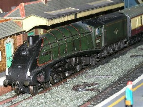 Solihull Model Railway Circle - 60033 'Seagull' in BR Green