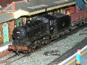 Solihull Model Railway Circle - 64970 in BR Black