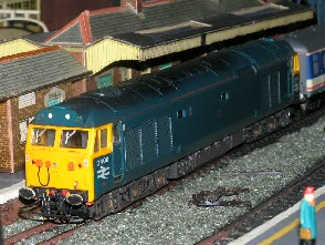 Solihull Model Railway Circle - D400 BR Blue