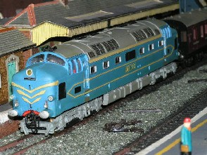 Solihull Model Railway Circle - English Electric prototype 'Deltic'